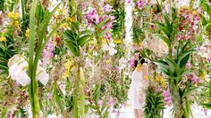design-dautore.com: Floating Flower Garden