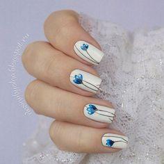 #маникюр #nailart #гельлак #слайдер #чернаяпантера #bpw #красивыйманикюр #ногти #nail #nails #красивыеногти #зима #синий #весна #ярко #цветы Маникюр с синими цветами (номер 1-666) с @slider_bpwomen. http://designbyolga.blogspot.ru/2017/02/blog-post_21.html