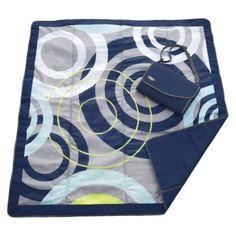 JJ Cole x All-Purpose Outdoor Blanket in Blue Orbit - ShopStyle Kids Bedding Blue Blanket, Beach Blanket, Picnic Blanket, Outdoor Blanket, Picnic Mat, Beach Picnic, Jj Cole, Outdoor Baby, Indoor Outdoor