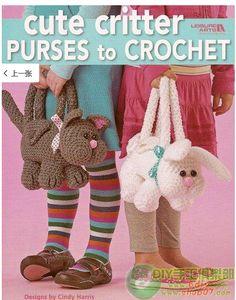 Patrones de Crochet para bolsos amigurumis