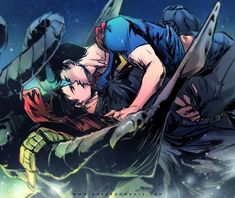 "we-love-yaoi: ""By-望月海凝(Hai-ning) "" Superman X Batman, Cute Anime Guys, Anime Love, Otp, Marvel Dc Movies, Superbat, Short Comics, Wattpad, Fandoms"
