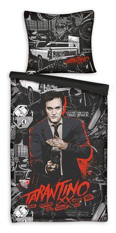 Funda nórdica Quentin Tarantino Estupenda funda nórdica con funda para almohada, del famoso personaje Quentin Tarantino.