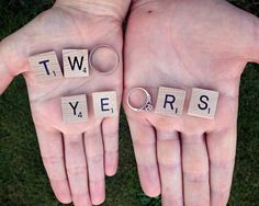 Two years - second wedding anniversary