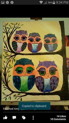 Weber Family of owls