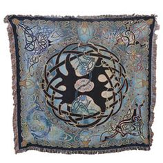 Tree of Life Celtic Throw