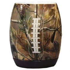 Realtree Camo Football Coozie