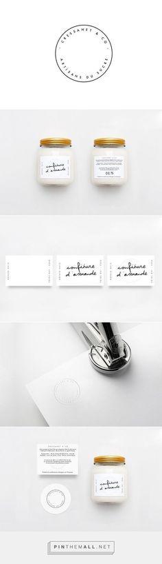 Cressanet & co - Artisanat on Packaging Design Served - created via… Corporate Design, Brand Identity Design, Graphic Design Branding, Label Design, Typography Design, Lettering, Logo Design, Package Design, Print Design