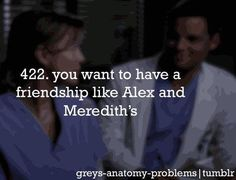 Alex and meredith..<3
