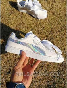 Puma Basket Heart 363626-02 Women White Sneaker Ray Top Deals 077ae391f