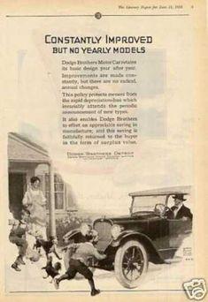 1916 Dodge Brothers Roadster Detroit Michigan Winter Top Antique ...