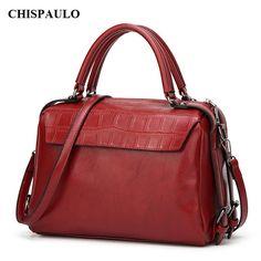 CHISPAULO 2017 crocodile handbags women luxury handbags women bags designer suits high quality boston woman bag fashion new C007 #Affiliate