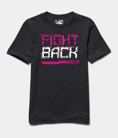 Boys' UA Power In Pink® Fight Back T-Shirt   Under Armour US