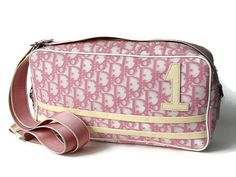 Christian Dior signature bag. Pink cross body by OnceLostBoutique, $130.00