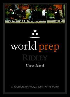 Ridley College World Prep Book. [Turnaround Marketing Communications]