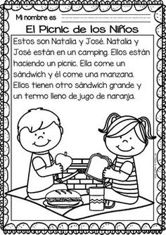 Easy Reading for Reading Comprehension in Spanish - Summer Set Learn Spanish Free, Spanish Lessons For Kids, Spanish Basics, Spanish Activities, Language Activities, Learning Activities, Spanish Language Learning, Teaching Spanish, Reading Passages