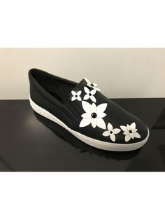 MICHAEL MICHAEL KORS Michael Michael Kors Flower Detail Slip-on Sneakers. #michaelmichaelkors #shoes #https: