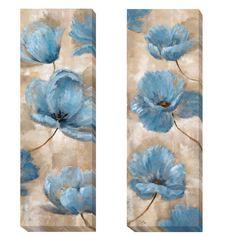 <li>Artist: Nan</li><li>Title: A Summer Wind I and II</li><li>Product Type: 2-piece Canvas Art Set</li>