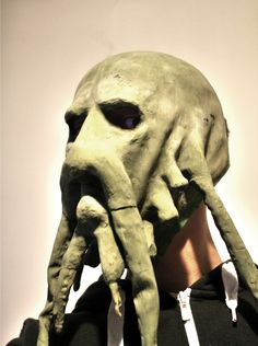 Davy Jones Mask Pirates of the caribbean Davy Jones, Pirates Of The Caribbean, Lion Sculpture, Statue, Fictional Characters, Art, Blue Prints, Art Background, Kunst