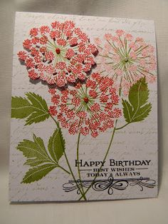 Marcia's Stampin' Pad: More PTI  Meadow Greens