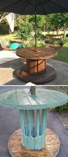 DIY Recycled Wood Cable Spool Furniture Ideas Projects & Instructions 2019 DIY Wire Spool Patio Table Wood Wire Spool Recycle Ideas The post DIY Recycled Wood Cable Spool Furniture Ideas Projects & Instructions 2019 appeared first on Patio Diy. Wood Spool Tables, Cable Spool Tables, Cable Spool Ideas, Spools For Tables, Pergola Patio, Diy Patio, Patio Ideas, Pergola Kits, Pergola Ideas