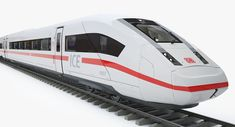 ICE 4 Speed Train 3D model Speed Training, Ice, Models, Ice Cream, Fashion Models, Templates, Modeling