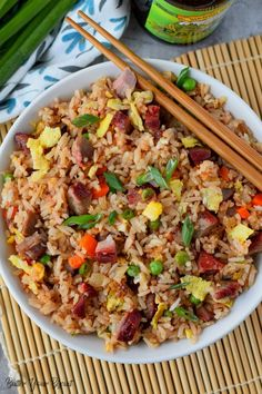 Pork Fried Rice Recipe Butter Your Biscuit -Butter Your Biscuit