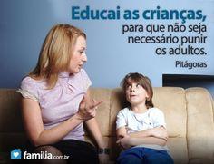 Familia.com.br | Maneiras para efetivamente punir seus filhos #Educacao #Filhos