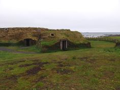 L'Anse aux Meadows National Historic Site. At the tip of the Great Northern Peninsula of the island of Newfoundland, the remains of an 11th-century Viking settlement are evidence of the first European presence in North America. The excavated remains of wood-framed peat-turf buildings are similar to those found in Norse Greenland and Iceland.