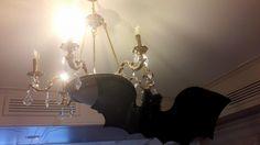 Halloween Party ! Halloween Party, Chandelier, Ceiling Lights, Lighting, Home Decor, Light Fixtures, Ceiling Lamps, Chandeliers, Lights