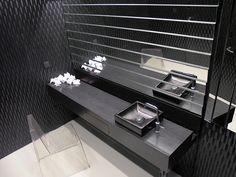 #valchromat #bathroom #black