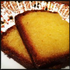 Ginger and Lemon Madeira Cake from The Vicar Died Laughing...
