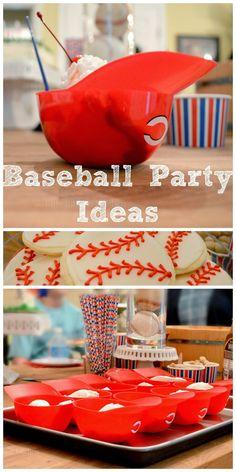 Blue Ribbon Kitchen: All About That Base...Baseball Party