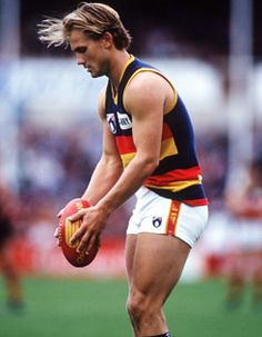 Tony Modra - God I loved Mods when I was a teenager! Posters all over my walls! Adelaide South Australia, Athletic Men, Crows, Football Team, Sexy Men, Balls, Pride, Posters, God