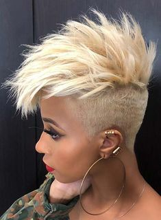 ReedClaiborne 23 Short Spiky Haircuts For Women Black Women Short Hairstyles, Short Spiky Hairstyles, Side Braid Hairstyles, Short Grey Hair, Easy Hairstyles For Medium Hair, Short Hair Cuts, Hairstyle Short, School Hairstyles, Prom Hairstyles