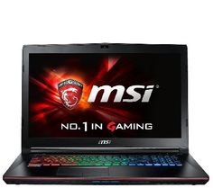 """$242 x6 = $1450  Level up. The MSI GE72 Apache Pro-003 laptop was designed with gamers in mind, so you won't struggle to run your favorite titles.<br><br>You've got the power. The power of a 2.6GHz Intel Core i7-6700HQ processor and 16GB RAM, that is! Add in NVIDIA GeForce GTX960M graphics with 2GB GDDR5 memory and you're ready to play.<br><br>With a 1080p 17.3"""" diagonal display, you can see the action the way it was meant to be viewed--in glorious"""