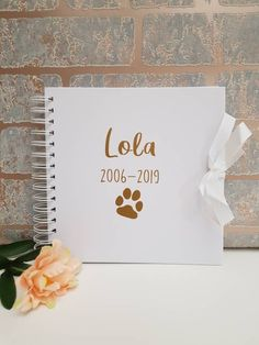 New style personalised scrapbook for your dogs! Personalised Scrapbook, Personalised Frames, Dog Scrapbook, Photo Album Scrapbooking, Dog Photo Frames, Little Girl Pictures, Sweet Jars, Dog Treat Jar, Gotcha Day