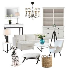 """""""Simplilistic Livingroom"""" by silverlime2013 on Polyvore featuring interior, interiors, interior design, home, home decor, interior decorating, Kartell, Fine Art Lamps, Homelegance and Nova Solo"""
