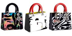 You Won't Know Whether to Carry These New Dior Bags or Hang Them On Your Wall - HarpersBAZAAR.com