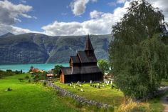 Europa Noruega igrejas paisagens