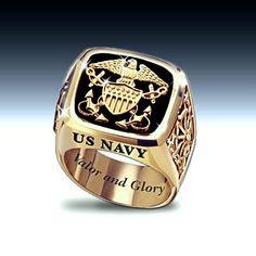 U.S. Navy Men's Ring