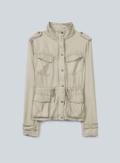 Talula Wiltern Jacket—a soft, shrunken spin on the classic army jacket