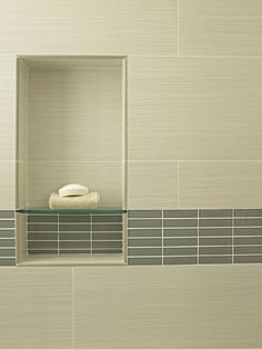 Custom Shower Design, Pictures, Remodel, Decor and Ideas - page 55  like the lines and glass shelf