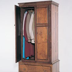 Choosing the Perfect Bedroom Armoire for You Woodworking In An Apartment, Woodworking Basics, Woodworking Furniture, Furniture Plans, Woodworking Plans, Woodworking Shop, Woodworking Patterns, Woodworking Equipment, Woodworking Magazine