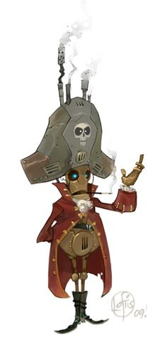 Cory Loftis - Captain Bartholemew Breakerbox