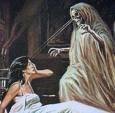 Weird Weird World Dark Fantasy Art, Dark Art, Vintage Comics, Vintage Art, Horror Artwork, Arte Obscura, Horror Comics, Arte Horror, Creepy Art