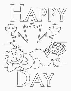 Happy Canada Day Coloring Pages - July Free Printable Coloring Pages Coloring Pages For Teenagers, Summer Coloring Pages, Flag Coloring Pages, Free Coloring Sheets, Free Printable Coloring Pages, Adult Coloring Pages, Fete St Jean Baptiste, Dominion Day, Canada Day Fireworks
