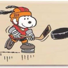 Snoopy Playing Hockey- funny this would be a suggestion for me because it's really my tattoo! Just different colors! Flyers Hockey, Hockey Memes, Blackhawks Hockey, Chicago Blackhawks, Hockey Players, Snoopy Love, Charlie Brown And Snoopy, Snoopy And Woodstock, Hockey Pictures