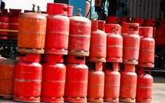 Nobody should own cooking gas cylinders, FG insists Latest Nigerian News, Inside Shop, Political Corruption, Filling Station, News Around The World, Control Unit, Fire Extinguisher, Hot Sauce Bottles, Cooking