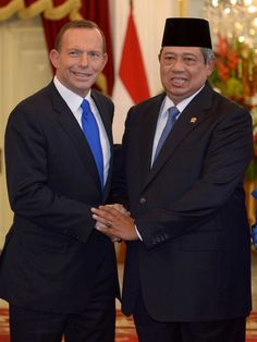 Abbott visits Jakarta  http://mobile.abc.net.au/news/2013-10-28/rollo-west-papua-complicity/5049204  Low Life Abbott is disgusting.