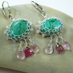 Persephone Earrings by pippijewelry on Etsy, $143.00